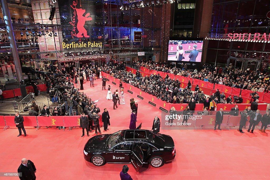 A general view of the AUDI Lounge at the Marlene Dietrich Platz during day 1 of the Berlinale International Film Festival on February 6, 2014 in Berlin, Germany.