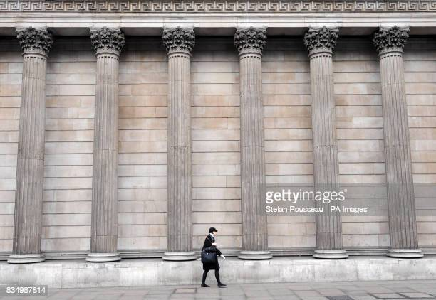 A general view of the Bank of England in London as interest rates were today slashed to an alltime low of 15%