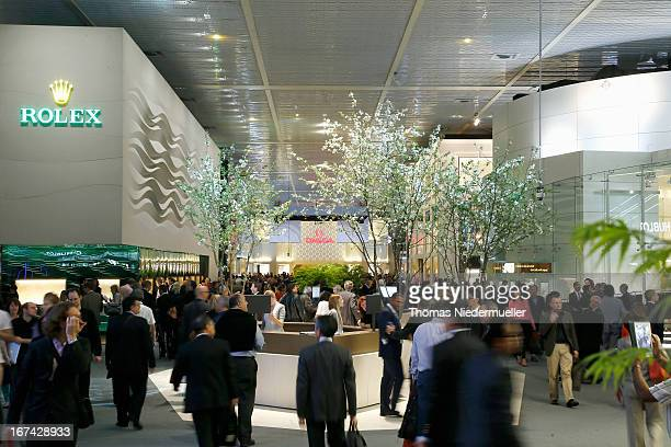 A general view of the 'Baselworld 2013' at Baselworld on April 25 2013 in Basel Switzerland