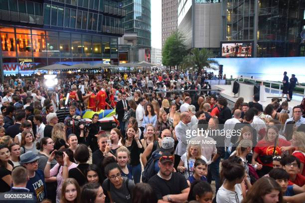 A general view of the Baywatch European Premiere Party on May 31 2017 in Berlin Germany