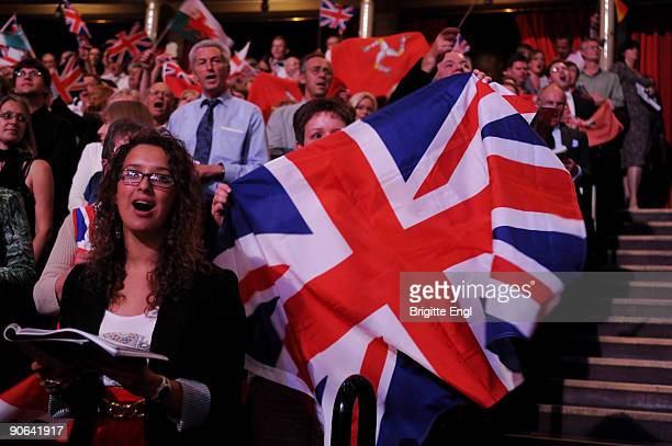 General view of the BBC Last Night Of The Proms at the Royal Albert Hall on September 12 2009 in London England