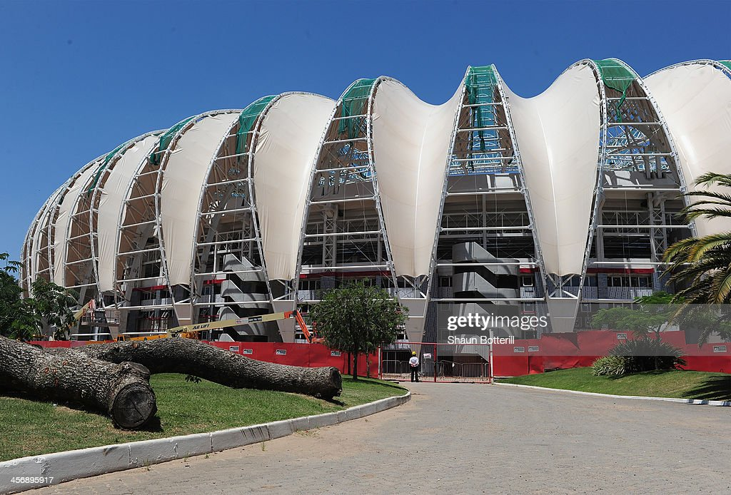 A general view of the Beira Rio stadium venue for the FIFA 2014 World Cup Brazil on December 15, 2013 in Porto Alegre, Brazil.