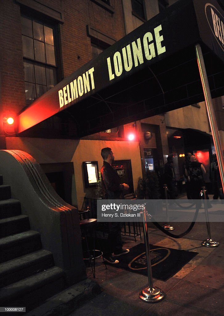 General view of The Belmont Lounge at the Joey Ramone Foundation For Lymphoma Research benefit concert at The Belmont Lounge on May 19, 2010 in New York City.