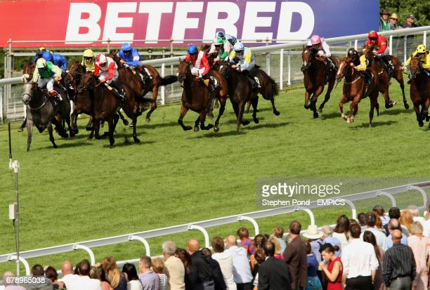 A general view of the Betfred TV Oak Tree Stakes during day four of the 2013 Glorious Goodwood Festival at Goodwood Racecourse