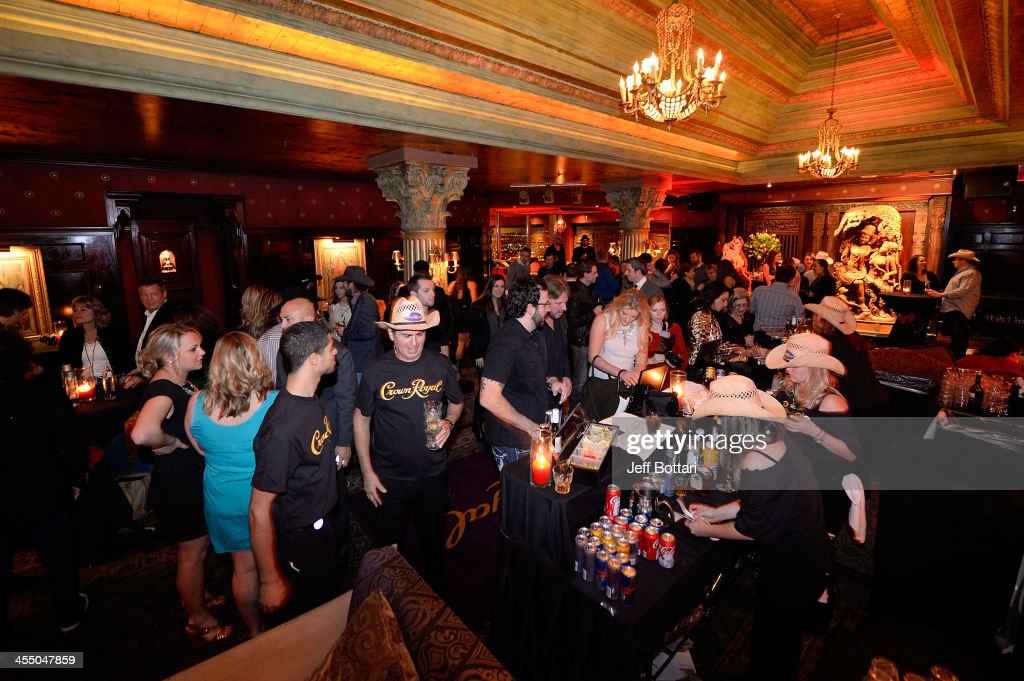 A general view of the Big Machine Label Group Crown Royal after party for the American Country Awards 2013 at the House of Blues Las Vegas Foundation Room inside the Mandalay Bay Resort and Casino on December 10, 2013 in Las Vegas, Nevada.
