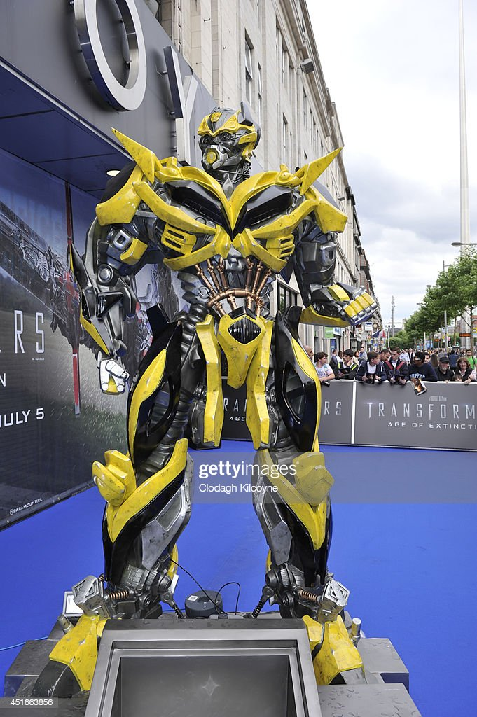 General view of the blue carpet at the Irish Premiere of 'Transformers 4: Age of Extinction' at Savoy Cinema on July 3, 2014 in Dublin, Ireland.