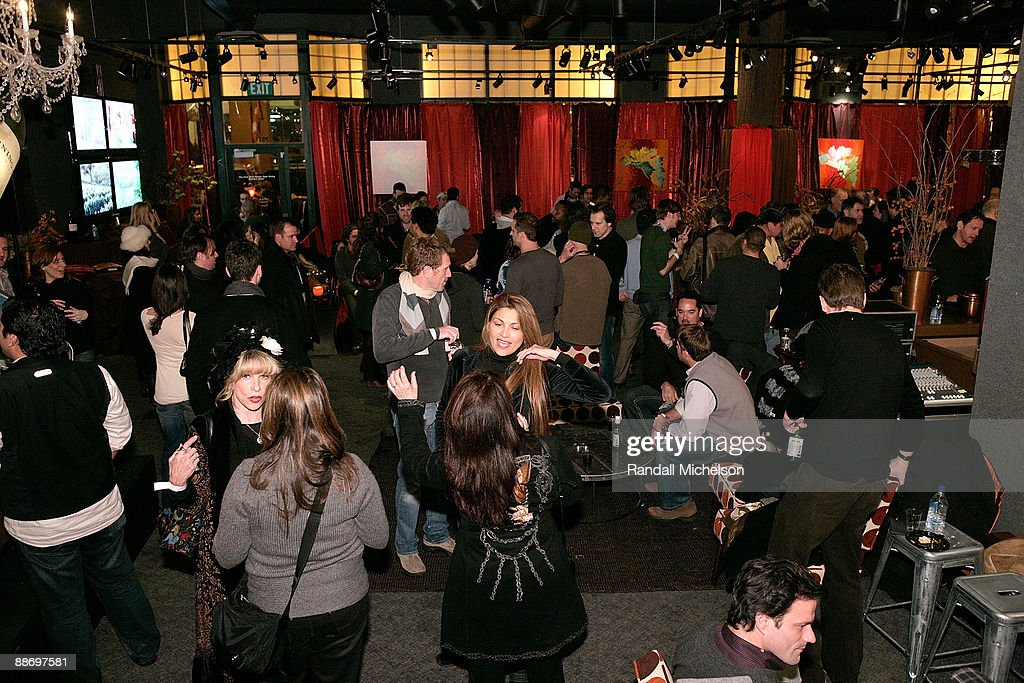 General view of the BMI Big Crowded Room Party at the Leaf Lounge during the 2008 Sundance Film Festival on January 21, 2008 in Park City, Utah.