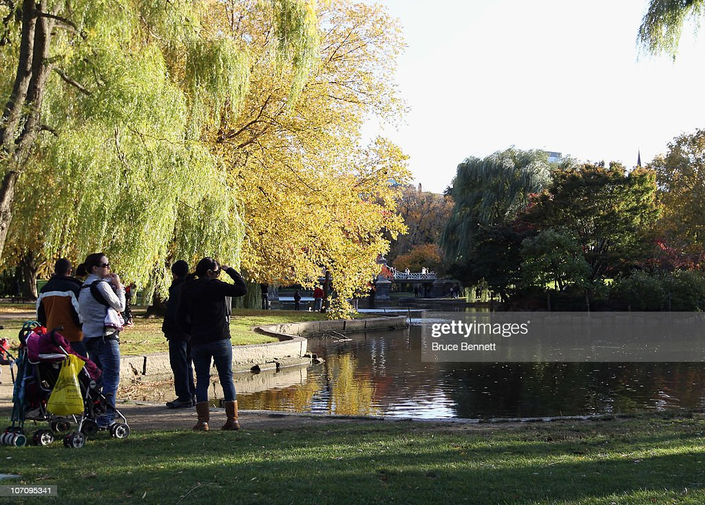 A general view of the Boston Garden photographed on November 9 2010 in Boston Massachussets