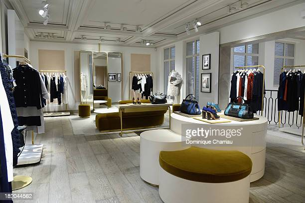General view of the boutique during 'Chloe Attitudes' book launch celebration cocktail as part of show as part of the Paris Fashion Week Womenswear...