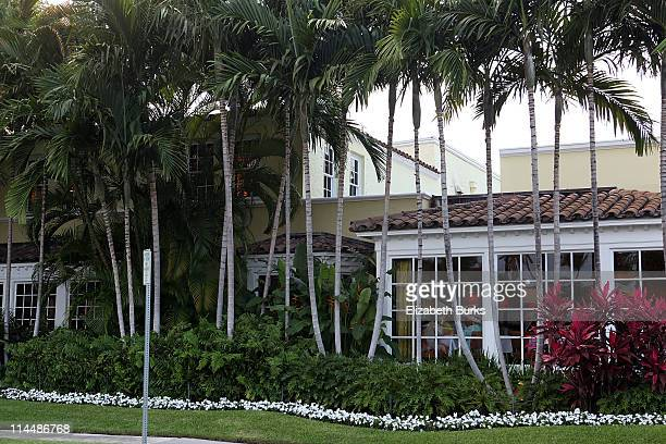 A general view of The Brazilian Court Hotel Beach Club on May 21 2011 in Palm Beach Florida