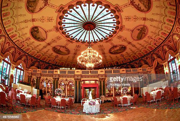 General view of The Breakers the venue where Sofia Vergara and Joe Manganiello's wedding is to be held November 17 2015 in Palm Beach Florida