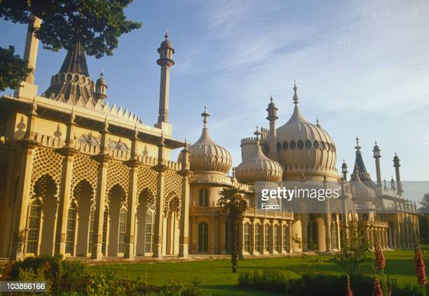 A general view of the Brighton Royal Pavilion Brighton East Sussex circa 1984 The Pavilion was built for the Prince Regent at the turn of the 19th...