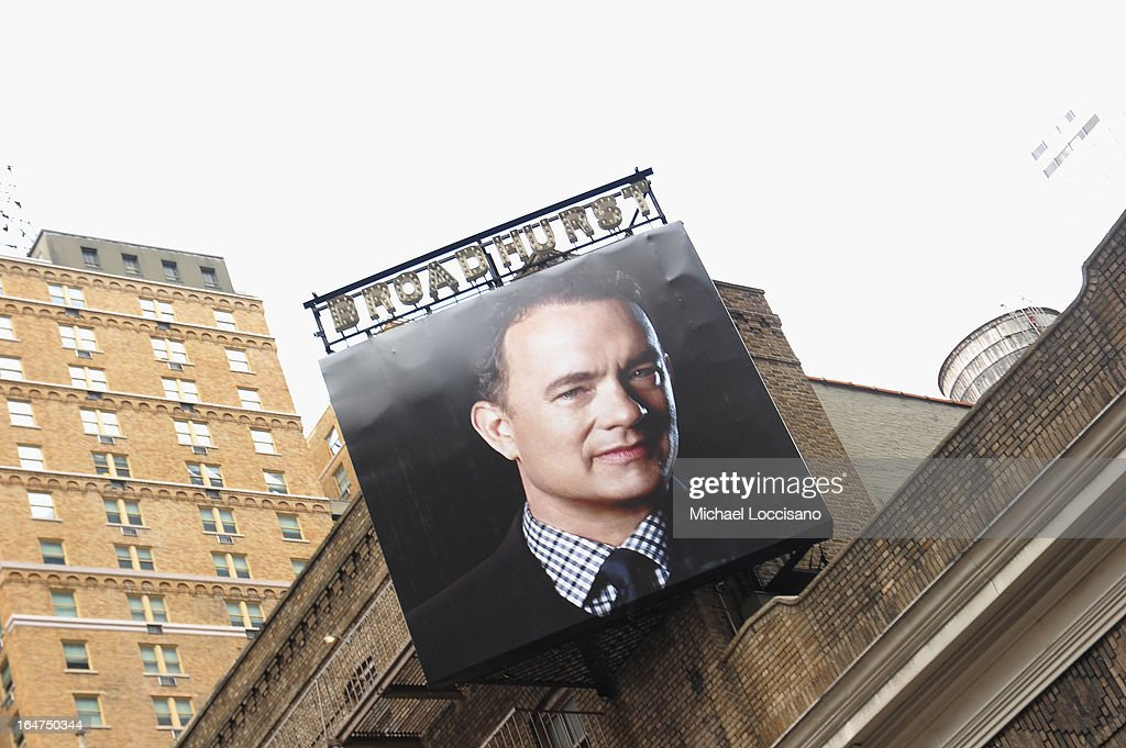 A general view of the Broadhurst Theatre on March 22, 2013 in New York City.