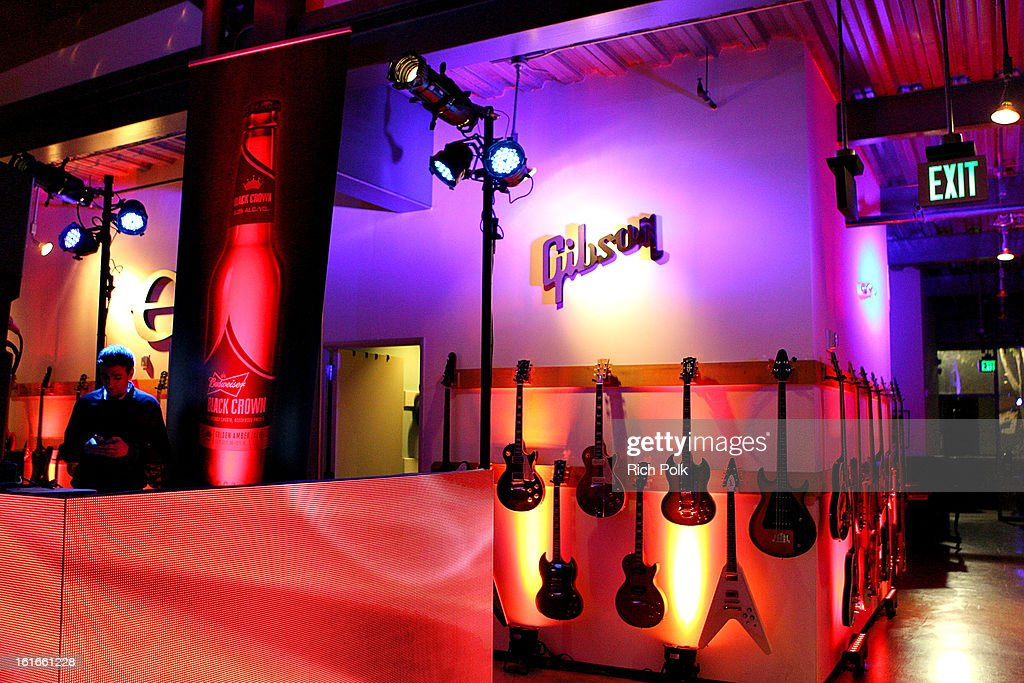 General view of the Budweiser Black Crown Launch Party at gibson/baldwin showroom on February 13, 2013 in Los Angeles, California.