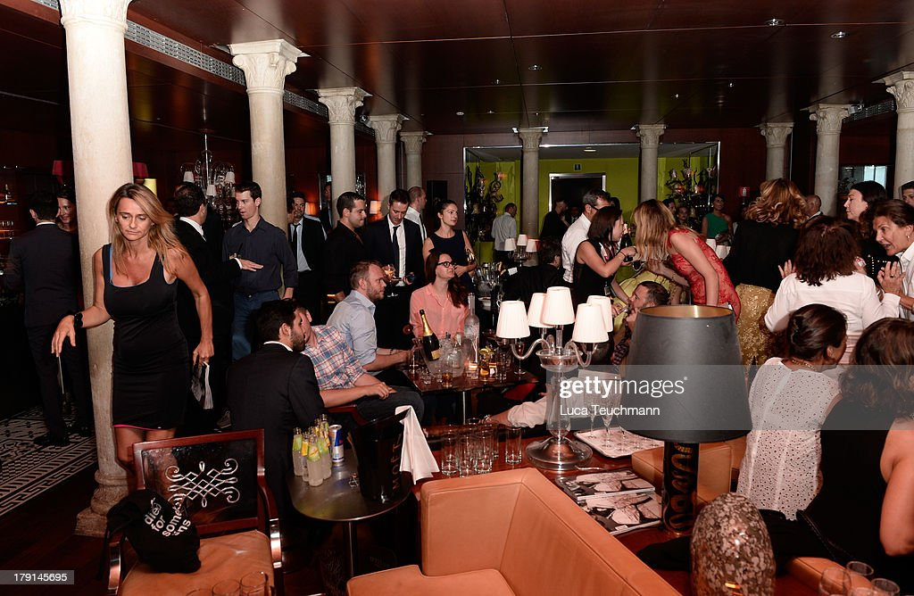 A general view of the Bungalow 8 James Franco Venice Film Festival Premiere Party for Child of God and Palo Alto during the 70th Venice International...