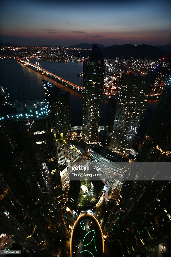 A general view of the Busan City, a part of BIFF Plaza, during the 17th Busan International Film Festival (BIFF) on October 12, 2012 in Busan, South Korea. The biggest film festival in Asia showcases 304 films from 75 countries and runs from October 4-13.