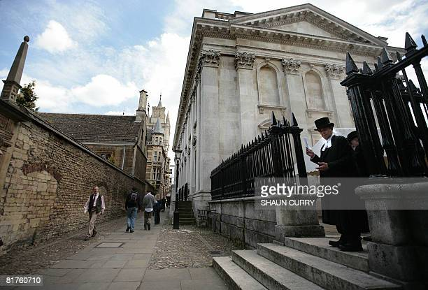 General view of the Cambridge University campus on June 23 2008 In 2009 Cambridge university will be marking its 800th anniversary AFP PHOTO /Shaun...