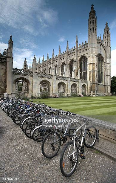 General view of the Cambridge University campus on June 23 2008 The beginnings of the University of Cambridge can be traced back to 1209 when the...