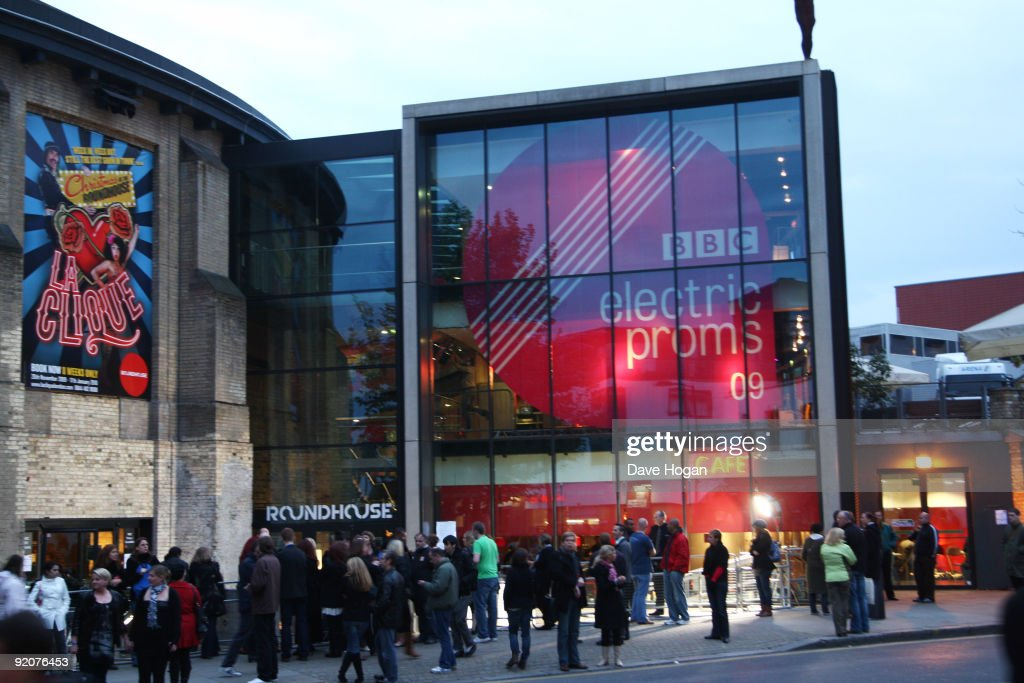 A general view of the Camden Roundhouse before Robbie Williams kicks off his comeback with a gig as part of BBC's Electric Proms festival inspired by...