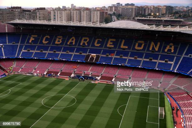 General view of the Camp Nou