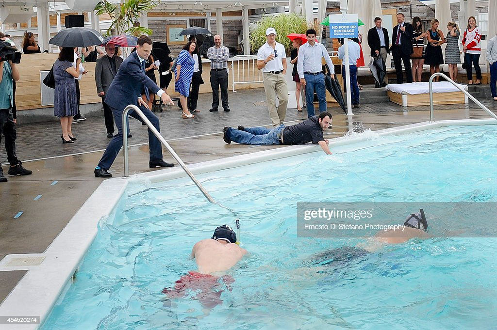 Million dollar hockey pool getty images for Pool show toronto