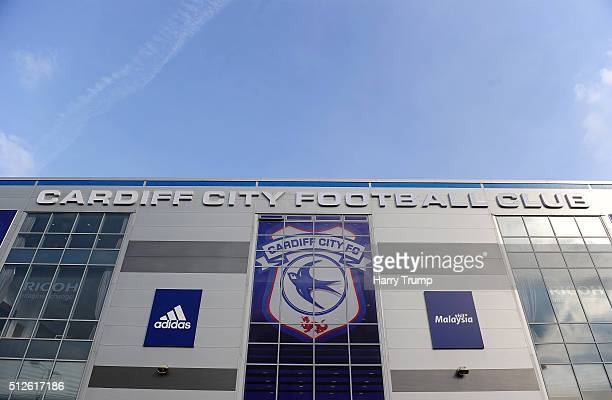 General view of the Cardiff City Stadium prior to kick off during the Sky Bet Championship match between Cardiff City and Preston North End at the...