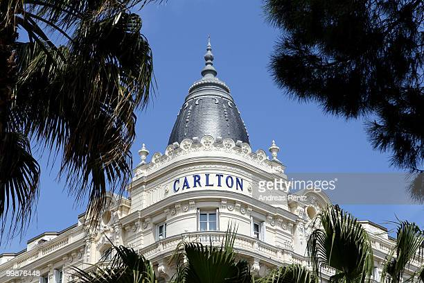 A general view of the Carlton Hotel during the 63rd Annual Cannes Film Festival on May 18 2010 in Cannes France