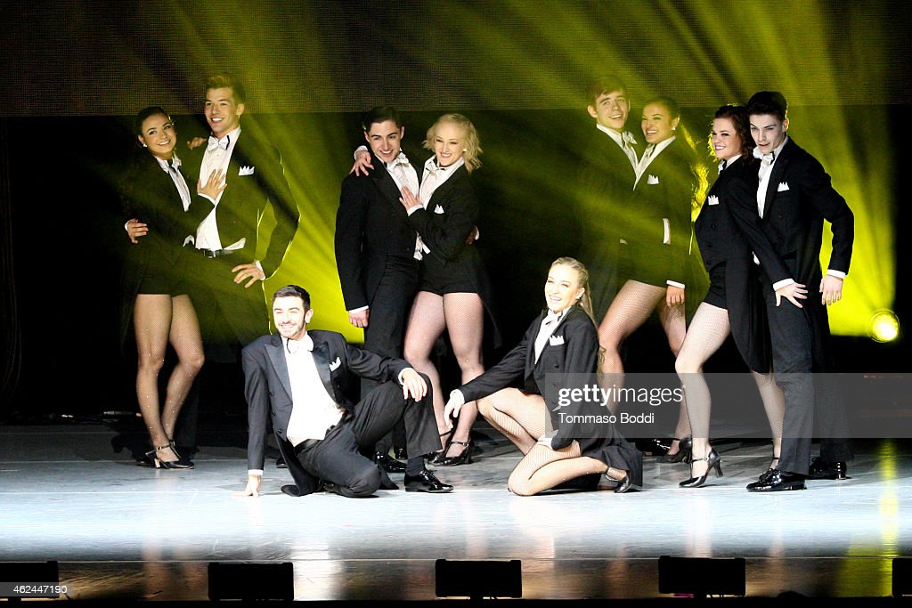 A general view of the cast of 'So You Think You Can Dance' Season 11 Tour held at Nokia Theatre LA Live on January 28 2015 in Los Angeles California