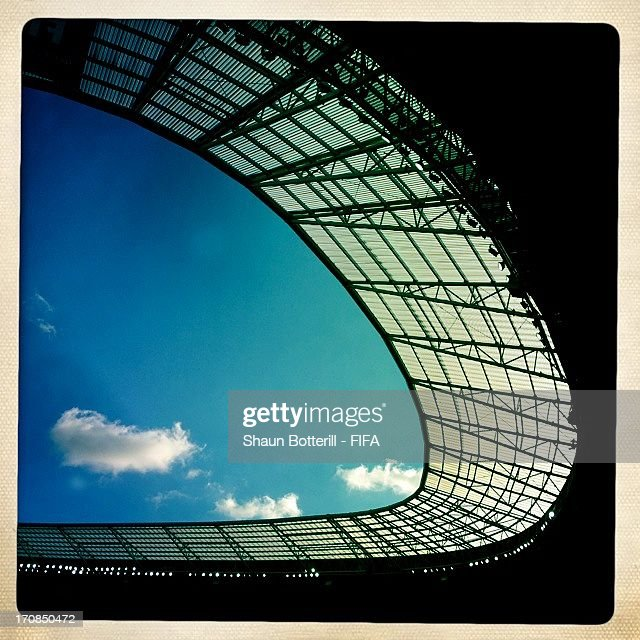 A general view of the Castelao stadium during the FIFA Confederations Cup Brazil 2013 on June 18, 2013 in Fortaleza, Brazil.