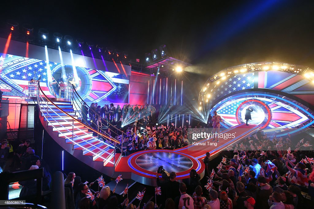 general view of the Celebrity Big Brother launch at Elstree Studios on August 27 2015 in Borehamwood England