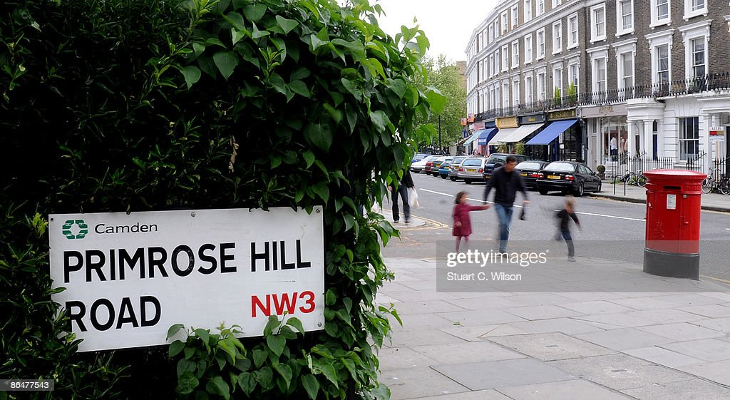 General view of the celebrity hangout places at Primrose Hill on May 7 2009 in London England
