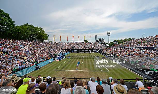 General view of the centre court on day seven of Mercedes Cup 2015 on June 12 2015 in Stuttgart Germany
