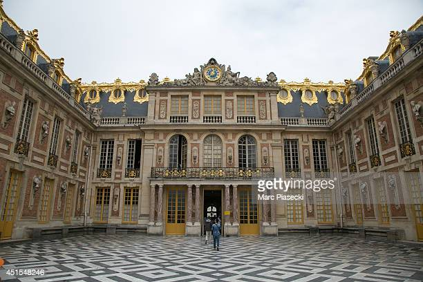 A general view of the 'Chateau de Versailles' on July 1 2014 in Versailles France