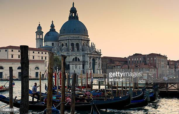General View of the Chiesa di Santa Maria della Salute on September 9 2011 in Venice Italy
