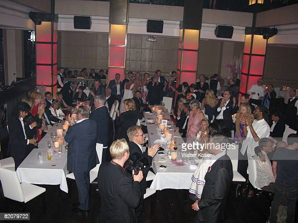 A general view of the China Club during the wedding celebrations of Udo Walz and his partner Carsten Thamm on July 26 2008 in Berlin Germany