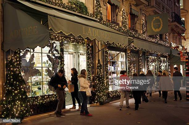 Laduree stock photos and pictures getty images for Laduree christmas