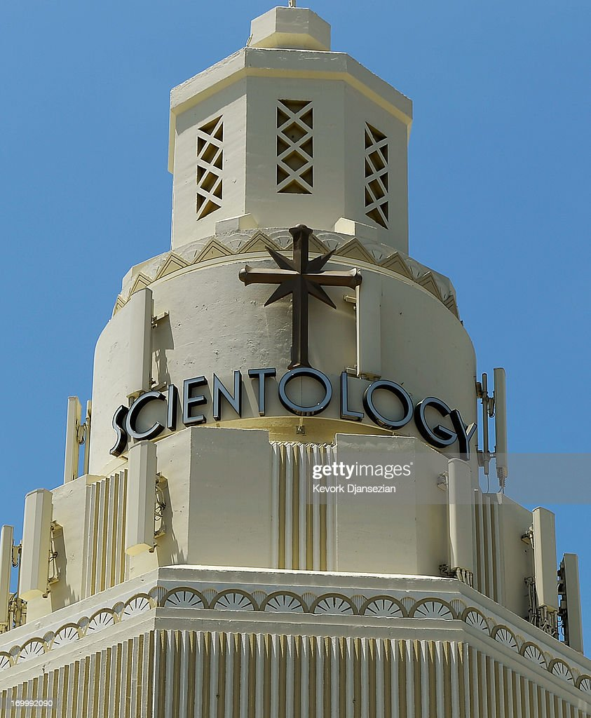 General view of the Church of Scientology community center in the neighborhood of South Los Angeles on June 5 2013 in Los Angeles California