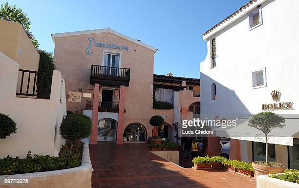 A general view of the City Centre on August 4 2009 in Porto Cervo Italy