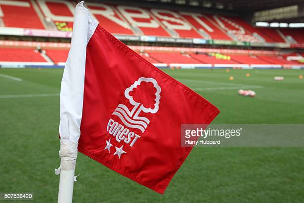 General view of the City Ground before the Emirates FA Cup Fourth Round match between Nottingham Forest and Watford at the City Ground on January 30...