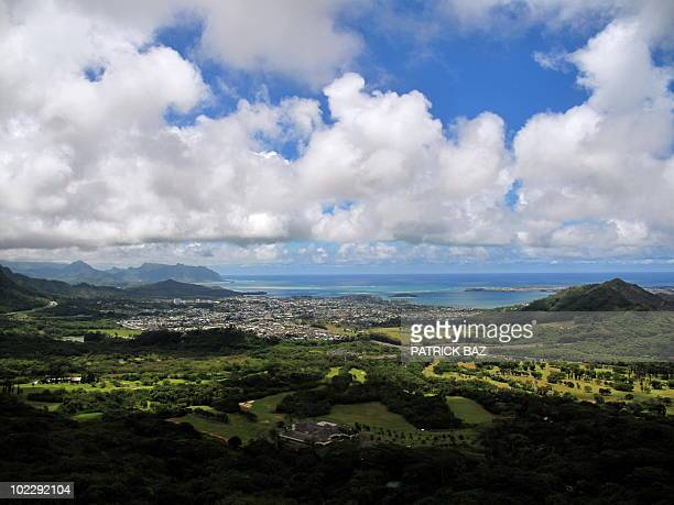 General view of the City of Honolulu on June 15 2010 AFP PHOTO/PATRICK BAZ
