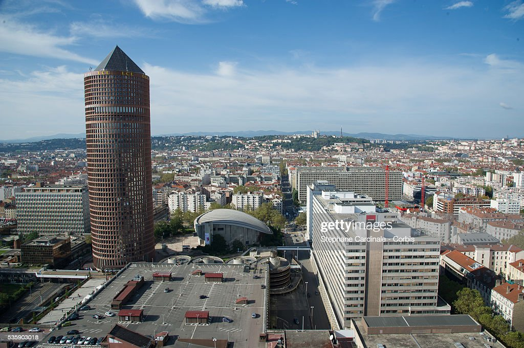 General view of the City of Lyon, during the 5th Lumiere Film Festival, in Lyon.