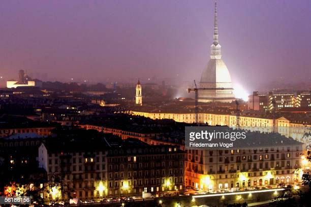 A general view of the city of Torino from the Mole Antonelliana on November 16 2005 in Torino Italy Torino will be the host nation for the 2006...