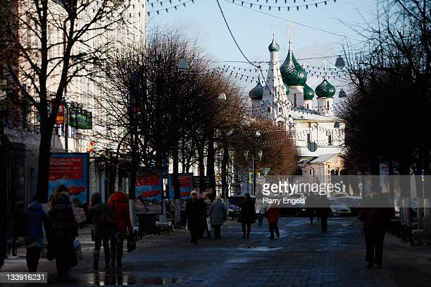 A general view of the city on November 15 2011 in Yaroslavl Russia Yaroslavl is one of thirteen cities proposed as a host city as Russia prepares to...