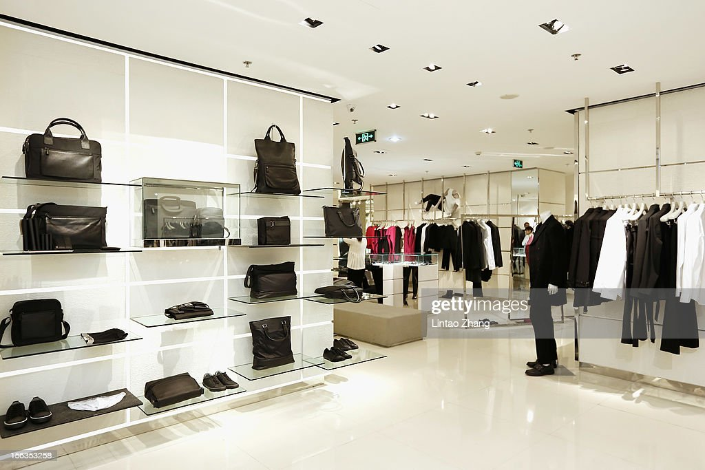 General view of the ck Calvin Klein store before the Fall 2012 Presentation at ck Calvin Klein store in Oriental Plaza on November 13, 2012 in Beijing, China.