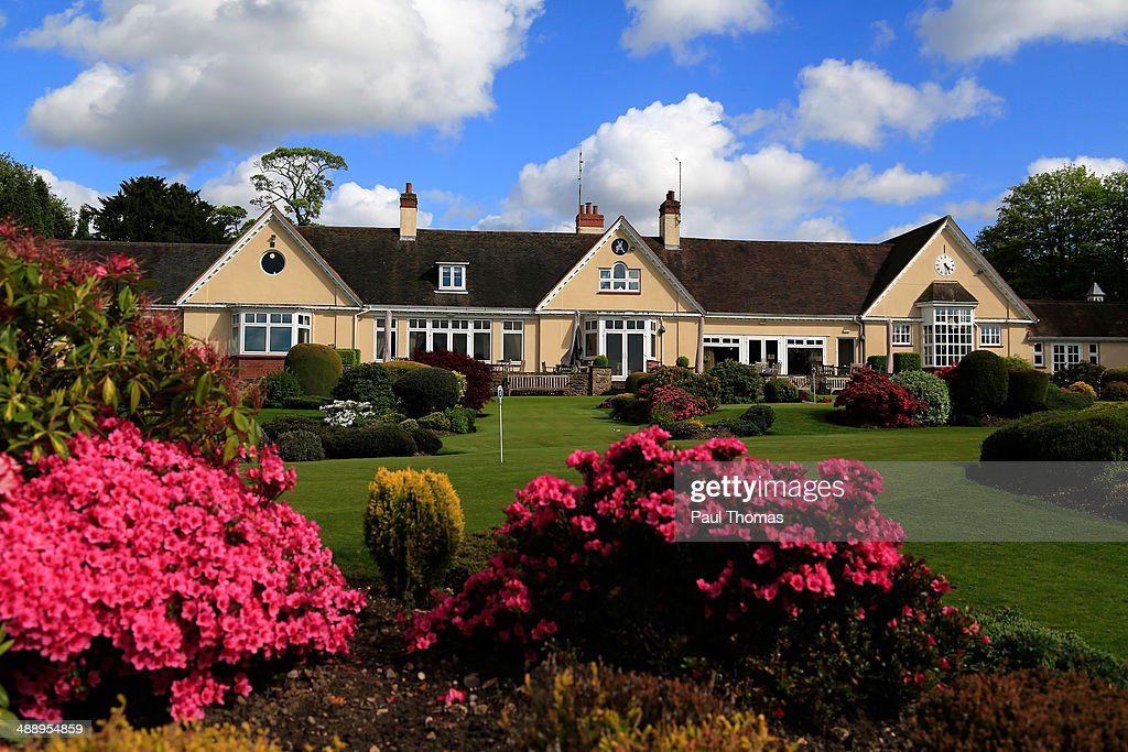 A general view of the club house during the Glenmuir PGA Professional Championship Midlands Regional Qualifier at Little Aston Golf Club on May 9, 2014 in Sutton Coldfield, England.