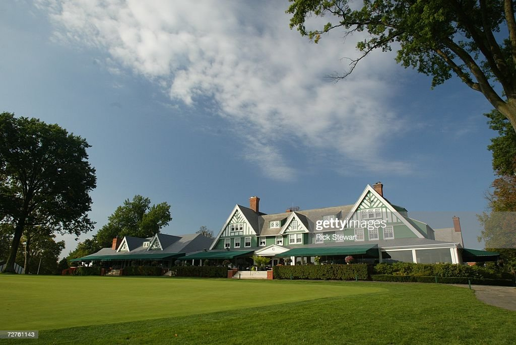 General view of the clubhouse at Oakmont Country Club, site of the 2007 US Open on September 26, 2006 in Oakmont, Pensylvania.