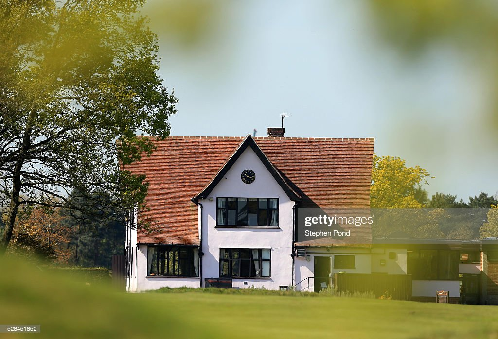 A general view of the clubhouse during the PGA Assistants Championship East Qualifier at Ipswich Golf Club on May 5, 2016 in Ipswich, England.