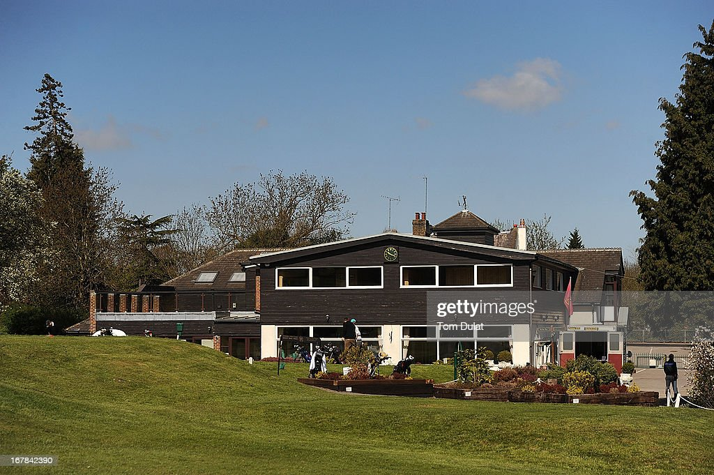 General view of the clubhouse during the Powerade PGA Assistants' Championship East Regional Qualifier at Chigwell Golf Club on May 01, 2013 in Chigwell, England.