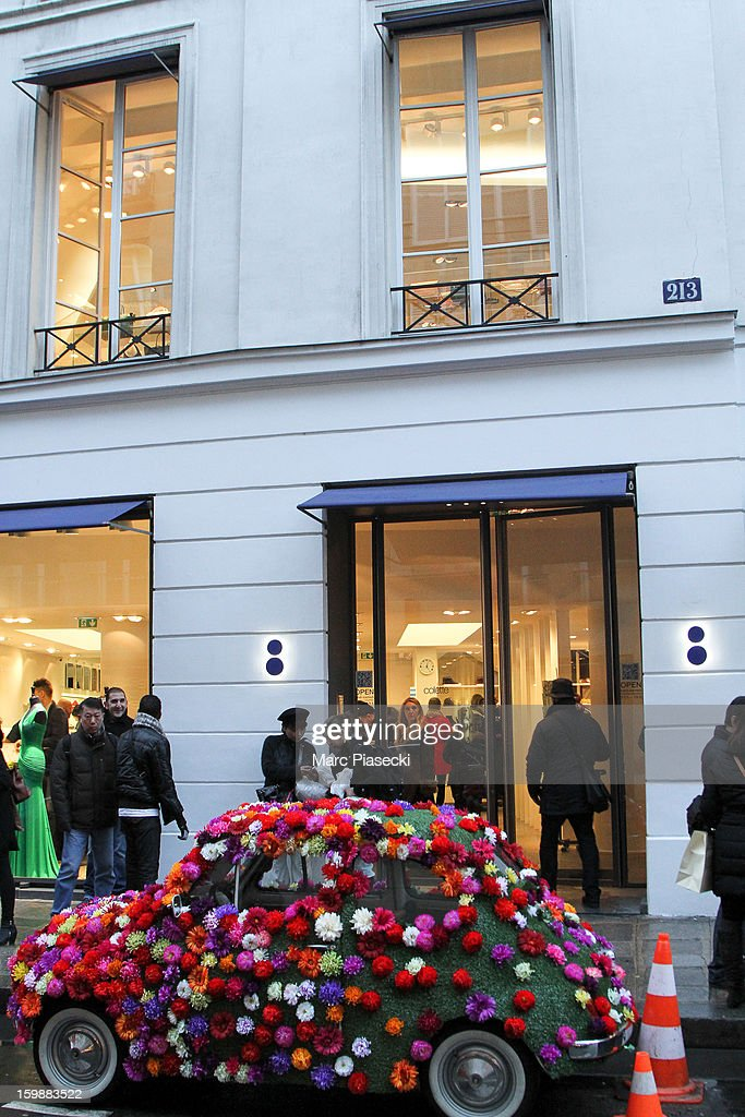 A general view of the 'Colette' store on January 22, 2013 in Paris, France.