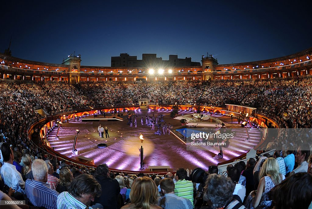 General view of the Coliseo Balear during the Wetten Dass...? Summer Edition on May 23, 2010 in Palma de Mallorca, Spain.